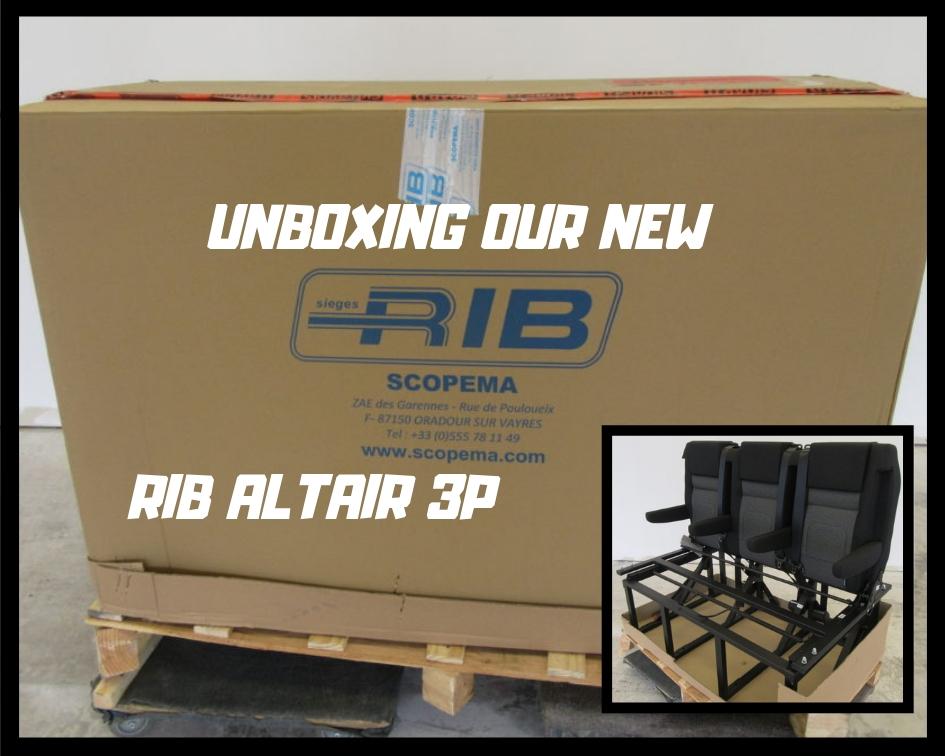 Scopema RIB Altair 3P Unboxing - Weekender Van Life