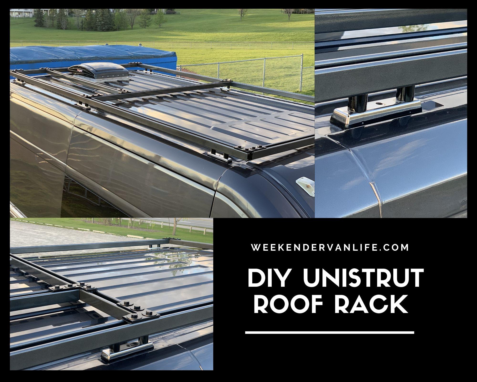 Unistrut Van Roof Rack Diy